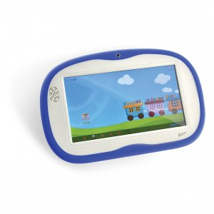 Tablet LEADERSHIP Kids Dual Core 4GB Jelly Bean Azul e Rosa 2 capas