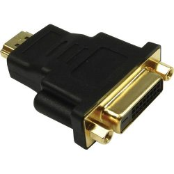 Adaptador DVI Femea x HDMI Macho Gold SMART