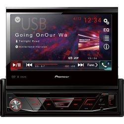 Auto Rádio CD/DVD/USB/AM/FM/Bluetooth AVH-4880DVD Preto PIONEER