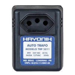 Auto Transformador Parede 220/127VAC 50VA TRP 5011 Preto HAYONIK