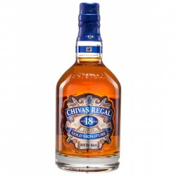 BEBIDA WHISKY CHIVAS REGAL GOLD SIGNATURE 18 ANOS