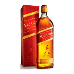 BEBIDA WHISKY JOHNNIE WALKER RED