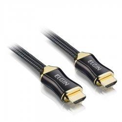 Cabo HDMI X HDMI Premium 1.4 3D 3M Ouro Elgin