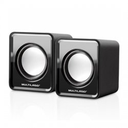 Caixa De Som Multilaser USB 3W SP144 Preta