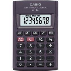 Calculadora de Bolso 8 Dígitos HL-4A Preta CASIO