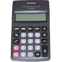 Calculadora de Bolso 8 Dígitos HL815L Preta CASIO