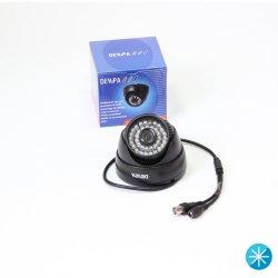 """Câmera Denpa CFTV Mod 9644 B Sony 1/3""""480TVL Domo"""