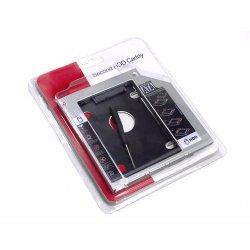 Case Para Hd De Ultrabook Caddy 9.5mm Sata  Empire 4337