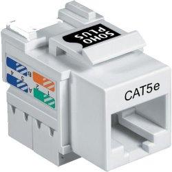 Conector Fêmea CAT5e T568A/B SOHOPLUS