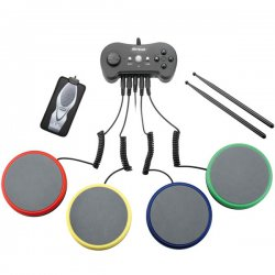 Controle Tapete Bateria P/ PS2-PS3-WII JS047 Multilaser