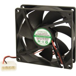 Cooler EC9225H12S 90X90 4PIN EVERCOOL