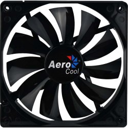 Cooler Fan 14cm DARK FORCE EN59790 Preto AEROCOOL
