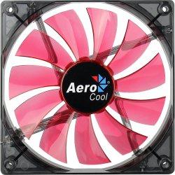 Cooler Fan 14cm RED LED EN59794 Vermelho AEROCOOL