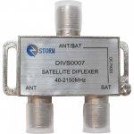 DIPLEXADOR SATELITE STORM VHF/UHF/SAT