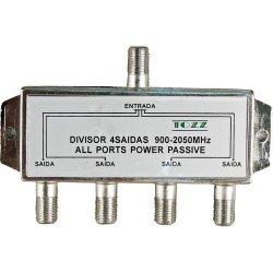 Divisor Satélite 1/4 5-2400 MHz GENÉRICO