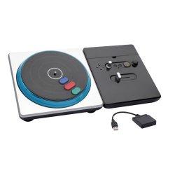 DJ Hero sem Fio para PS2/PS3 PS4702 Preto e Prata INTEGRIS