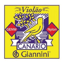 Encordoamento Para Violao GENW Canario Nylon Medio GIANNINI