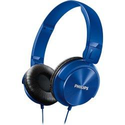 Fone de Ouvido Estilo DJ com Graves Nítidos SHL3060BL/00 Azul PHILIPS