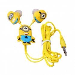 Fone de Ouvido Intra-Auricular Hearphones Minions