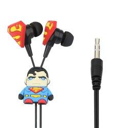 Fone de Ouvido Intra-Auricular Hearphones Superman