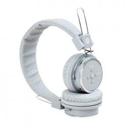 Fone de Ouvido Sem Fio Bluetooth e SD B-05 Branco