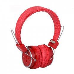 Fone de Ouvido Sem Fio Bluetooth e SD B-05 Vermelho