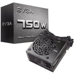 FONTE ATX  GAMER 750W EVGA  100-N1 0750 L1 WHITE