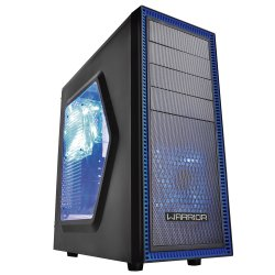 Gabinete Gamer GA134 Warrior Subzero 3 Coolers Com LED Multilaser