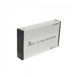 Gaveta USB Para HD Sata 3.5 Knup Prata