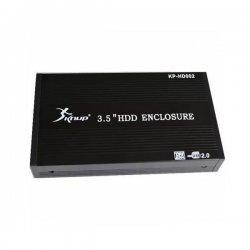 Gaveta USB Para HD Sata 3.5 Knup Preta