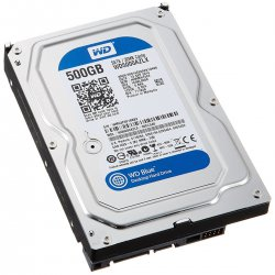 "HD Interno SATA 3,5"" 500GB SATA III 7200 RPM Blue WESTERN DIGITAL"