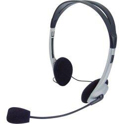 Headset 662040BS Preto/Prata OMEGA