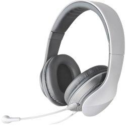 Headset com Alça e Microfone Dobrável e Removível K830 Branco e Prata EDIFIER