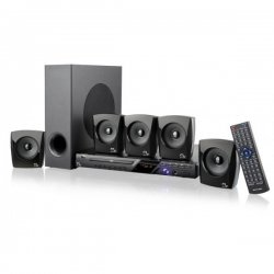 Home Theater Multilaser SUB 5.1 SP148 120W DVD/FM/Karaoke