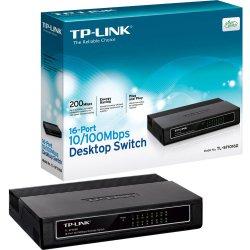 HUB 16 Portas 10/100 TP-Link TL-SF1016DS