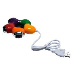 Hub USB 4 Portas Colorido X-CELL