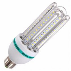 Lampada LED 3U 30W  Bivolt  6500K Cor Branca