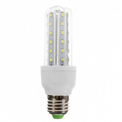Lampada LED 3U 9W  Bivolt  6500K Cor Branca