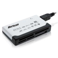 Leitor de Cartao de Memoria USB 46 em 1- AC076 Multilaser