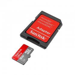 Micro SD 8GB Sandisk Classe 10 Com Adaptador 2x1