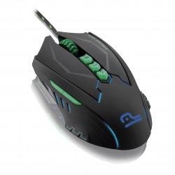 Mouse Gamer Optico USB 2500DPI MO218 Led Colorido Multilaser