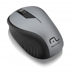 Mouse Optico Sem Fio MO213 1200 DPI Multilaser Grafite