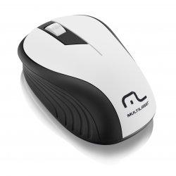 Mouse Optico Sem Fio MO216 1200DPI Multilaser Preto e Branco