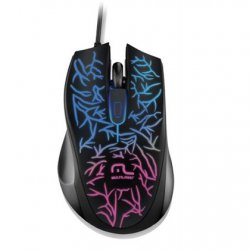 Mouse Optico USB MO227 Led Multilaser Preto