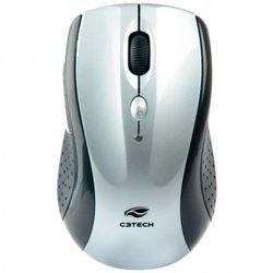 Mouse sem Fio 1600DPI M-W012SI Cinza C3TECH