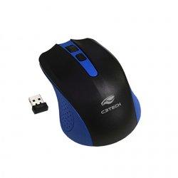 Mouse sem Fio M-W20BL Azul/Preto C3TECH