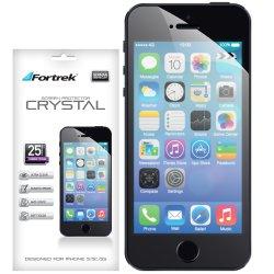 Pelicula Protetora para iPhone 5/5S/5C c/ 25 unidades ISP102E CrystalFORTREK
