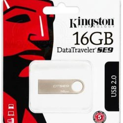PENDRIVE 16GB KINGSTON DT SE9 PRATA