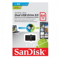 Pendrive 64GB Sandisk G46 Ultra Dual
