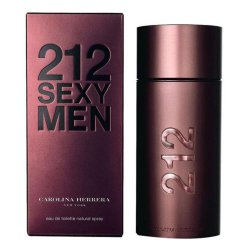 PERFUME CAROLINA HERRERA 212 SEXY MEN MASCULINO EDT 100 ML